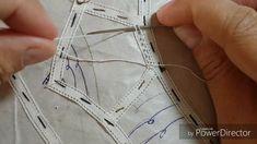 Artesanato RENDA Renascença passo a passo como fazer o ponto estrelinha-DIY
