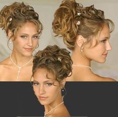 Curly Hair Updos - Bing Images