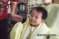 #はじめてのカット #赤ちゃんカット #ヘアーサロンカモシダ Kids Cuts, Salons, Face, Lounges, The Face, Faces, Children Haircuts, Facial