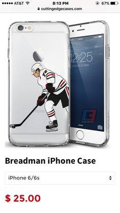 "Chicago Blackhawks phone case ""Breadman"""
