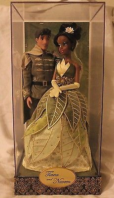 Disney Designer Fairytale Collection Tiana and Naveen LE OF 6000 with Gift Bag