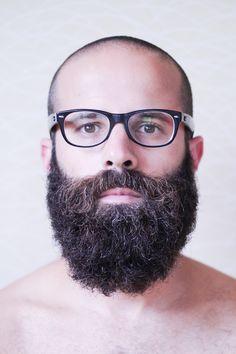 uprightdactylion: shot by Topher Chavis beard glasses bald