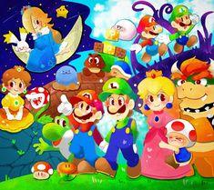 Mundo Super Mario, Super Mario Art, Super Mario World, Hama Beads Minecraft, Perler Beads, Metroid, Mario Party Games, Instructions Lego, Art Hama