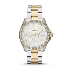 Fossil Cecile Multifunction Stainless Steel Watch - Two-Tone