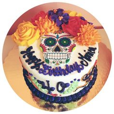 Bakery is located in the heart of downtown New Braunfels, Texas and focuses on producing quality baked goods completely from scratch daily. Sugar Skull Cakes, Halloween Birthday Cakes, Fiesta Cake, Bakery Cafe, Halloween Ideas, Baked Goods, Party Time, Texas, Baking