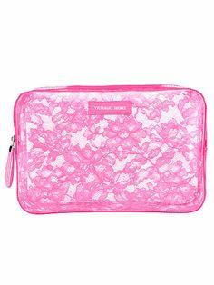 Large Jelly Lace Cosmetic Bag - Victoria's Secret - Victoria's Secret
