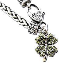 Irish Shamrock Charm Bracelet C18 Green Crystal Ornate Ma... https://www.amazon.com/dp/B00BW9YWFM/ref=cm_sw_r_pi_dp_x_axLOybBCJXMWE