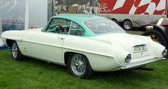 1956 Aston Martin DB2/4 Mark II Supersonic by Carrozzeria Ghia