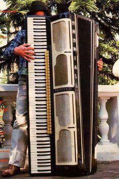 Grand accordeon