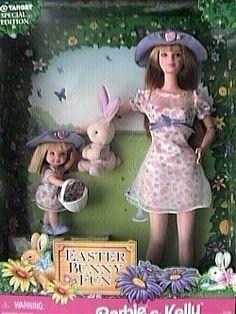 Easter Bunny Fun Barbie & Kelly