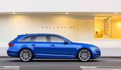 world premiere: facelift Audi A4