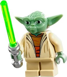 LEGO Star Wars Clone Wars LOOSE Mini Figure Yoda with Silver Lightsaber LEGO http://smile.amazon.com/dp/B00B06J7NY/ref=cm_sw_r_pi_dp_mT0hub1M4MP2Z