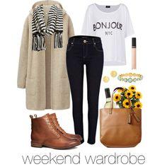 """""""weekend wardrobe"""" #fall #fashion"""