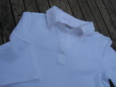 Tuto col chemise + patte polo