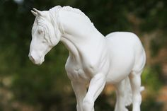 Shire Resin Model Horse Sculpture Figurine by DeborahMcDermott