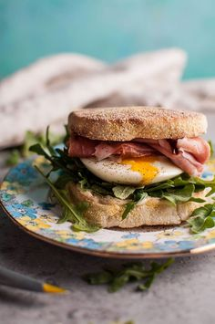 Make Poached Egg and Prosciutto Brunch Sandwiches with this recipe.