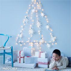 árvore de natal de luzes