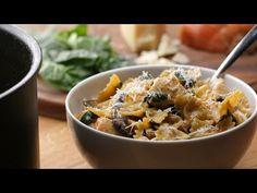 One-Pot Creamy Mushroom And Chicken Pasta - YouTube