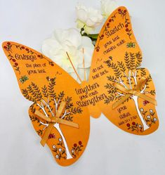 Excited to share this item from my shop: Christian Gift - Handmade Bible Verse Butterfly Isaiah 54 v Enlarge The Place Of Your Tent, Girls Bedroom Wall Art, Baptism, Gift Tag Isaiah 54, Girl Bedroom Walls, Butterfly Gifts, Glue Dots, Christian Gifts, Gift Tags, Bible Verses, Tent, Butterflies