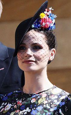 Charlotte Riley from All the Fascinators at the Royal Wedding 8d70e6da149e