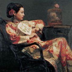Schilderij aziatisch