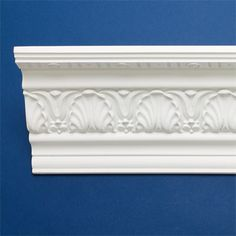 Leafy look style crown molding fypon moulding for Fypon crown molding trim