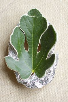 Creating with leaves