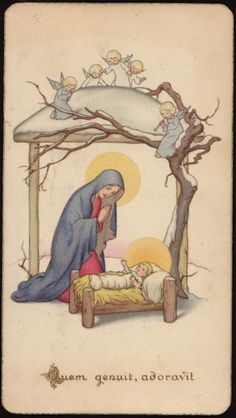 Holy Cards for Children: Nativity