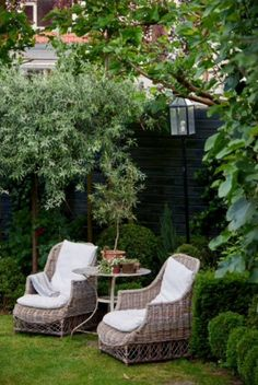 "This cosy garden sit down is from our feature ""Full of Surprises"""