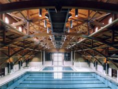 Deerfield Academy Natatorium (1995), Deerfield, Massachusetts - by SOM