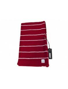 Addict Clothing Stanton Stripe Scarf - Red