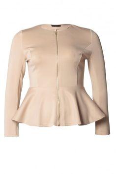 Scuba Zip Front Jacket