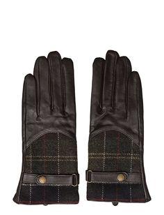 Barbour Dee Tartan Glove