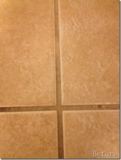 Cleaning grout- This actually works. Use a stiff bristle brush, spread baking soda in the grout lines and spray with water/vinegar mixture. With a bit of elbow grease, you will have white grout again!