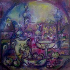 фарфор Дейзи - Изобразительное искусство - Масло, акрил