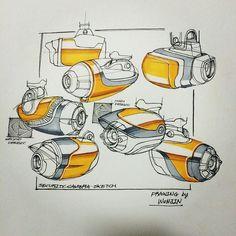 Sketch by Hong Wonjin