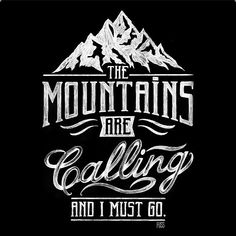 Mountains are calling and I must go by @thiago_bianchini