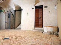 Pavimento de barro cocido para interiores y exteriores Pavimento de barro cocido - Mattone Romano