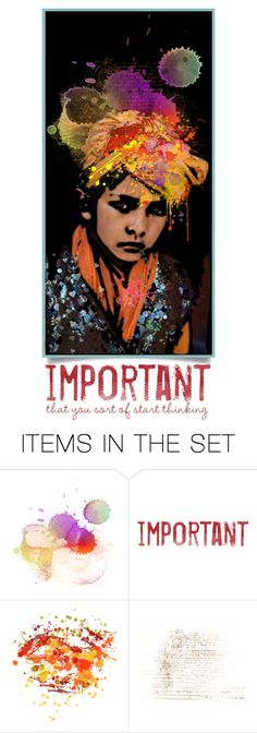 """""""The Sustainable Set"""" by sammie-g ❤ liked on Polyvore featuring art, vintage, artset and Polvore"""