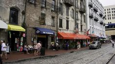 An image of the River Walk in Savannah, Georgia, where you can taste pralines, hear a local band or watch the ships roll in. Savannah has an old southern charm, chock full of history and a slower pace. We love visiting this city. http://abcnews.go.com/Lifestyle/skip-savannah/story?id=27062339 * Join us in our meandering with food and travel at:Facebook.com/TipsTripsandTastyTidbits *