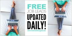 Looking for scam-free work at home jobs? Our job board is updated with the latest opportunities in customer service, data entry, freelance gigs, and more.