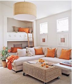 gathering space with bunk beds
