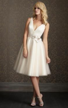 UK Knee Length Wedding Dresses, Cheap Wedding Dresses