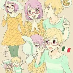 Koharu and Asahi