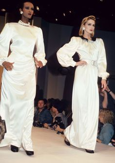 Oscar De La Renta 1986 featuring model Iman - The Cut