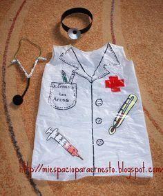 Mi espacio para Ernesto: DR. ERNESTO Carnaval Costume, Theme Carnaval, Social Stories Autism, Diy Doctor, People Who Help Us, Nurse Party, Dr Seuss Week, Dramatic Play Area, Doctor Costume