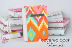 Easy Covered Books Tutorial