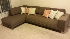 How To Turn Your Two Ugly Couches Into A Sectional D I Y D