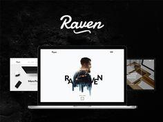 다음 @Behance 프로젝트 확인: \u201cRaven - Minimal WordPress Theme\u201d https://www.behance.net/gallery/50618931/Raven-Minimal-WordPress-Theme