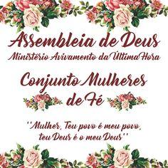 Banner de Divulgação Assembleia de Deus  Ministério Avivamento da Última Hora